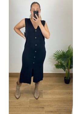 Vestido Arnoia Negro