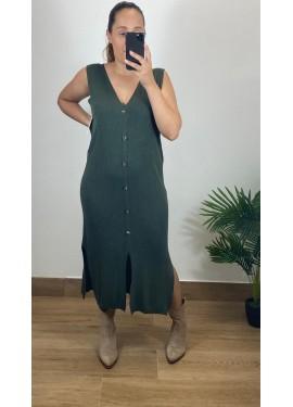 Vestido Arnoia Caza
