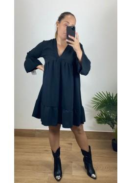 Vestido Camariñas Negro