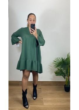 Vestido Camariñas Verde
