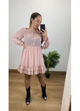 Vestido Escandalo Rosa