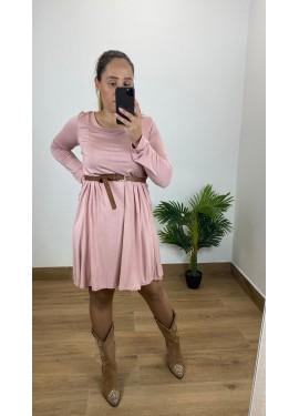 Vestido Fuerteventura Rosa