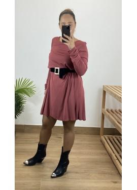 Vestido Fuerteventura Teja