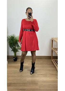 Vestido Fuerteventura Rojo