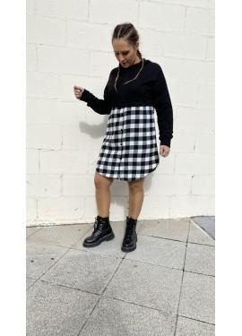 Vestido ohanes negro