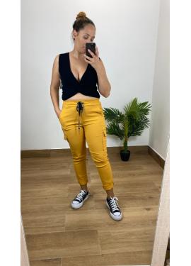 Pantalon Sabrina Mostaza