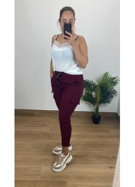 Pantalon Sabrina Granate