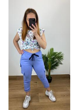 Pantalon Sabrina  Lila