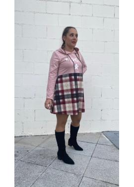 Vestido Ferrani Rosa