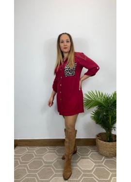 Camisa Apulia Granate