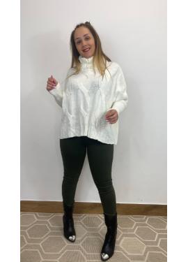 Jersey Pertu Blanco