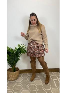 Falda Castellar Naranja