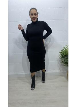 Vestido Luche Negro