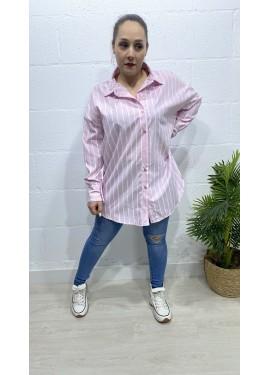 Camisa Lucia Rosa