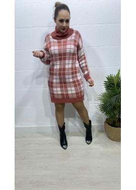 Vestido Roma Teja
