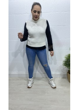 Chaleco Sorna Blanco