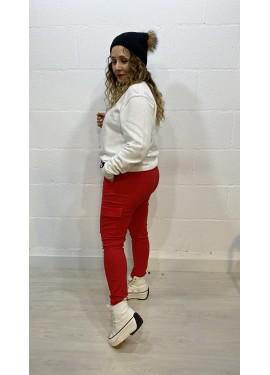 Pantalón Sabrina Rojo
