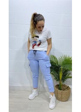 Pantalón Sabrina Azul Claro