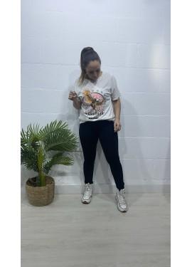 Camiseta Águila Blanco