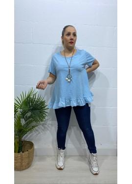 Camiseta Isla Azul