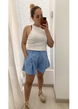 Short Tania Azul