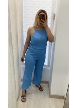 Mono Canalé Azul