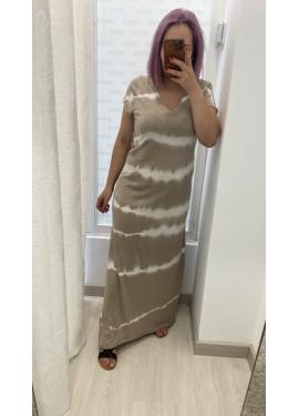 Vestido Carmela Beige