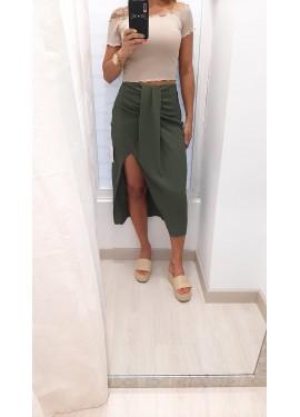 Falda Nudo Verde