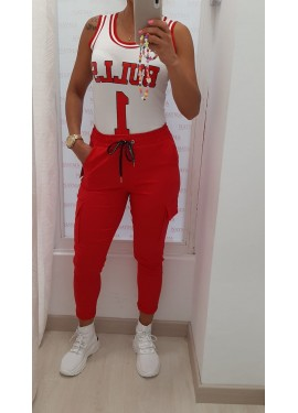 Pantalon Sabrina Rojo