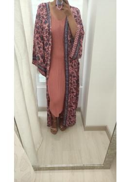 Vestido Formentera Teja