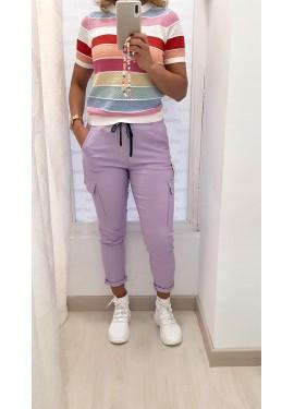 Pantalón Sabrina Lila