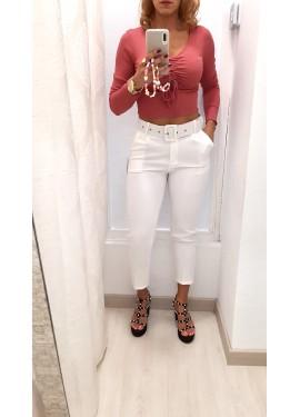 Pantalón Roset Blanco