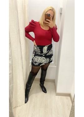 Falda Negra Carril