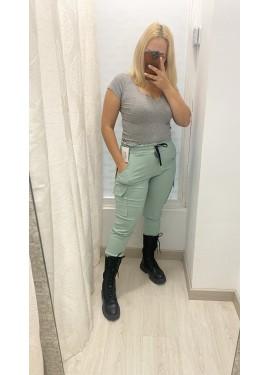 Pantalon Sabrina Verde Agua