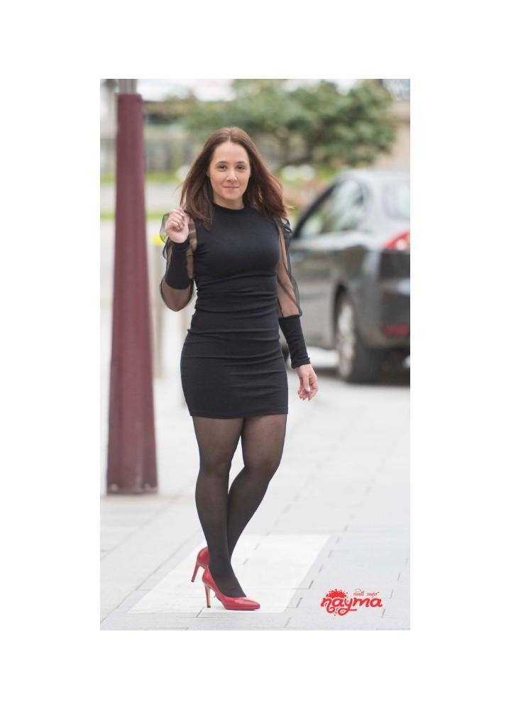 Vestido Carmela Negro